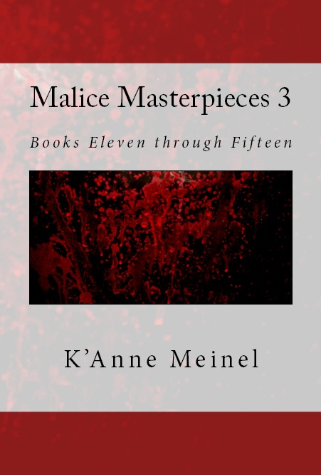 Malice Masterpieces 3 Books Eleven through Fifteen Front Cover