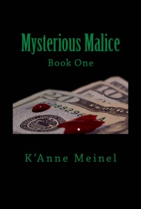Book 1 Mysterious Malice Cover